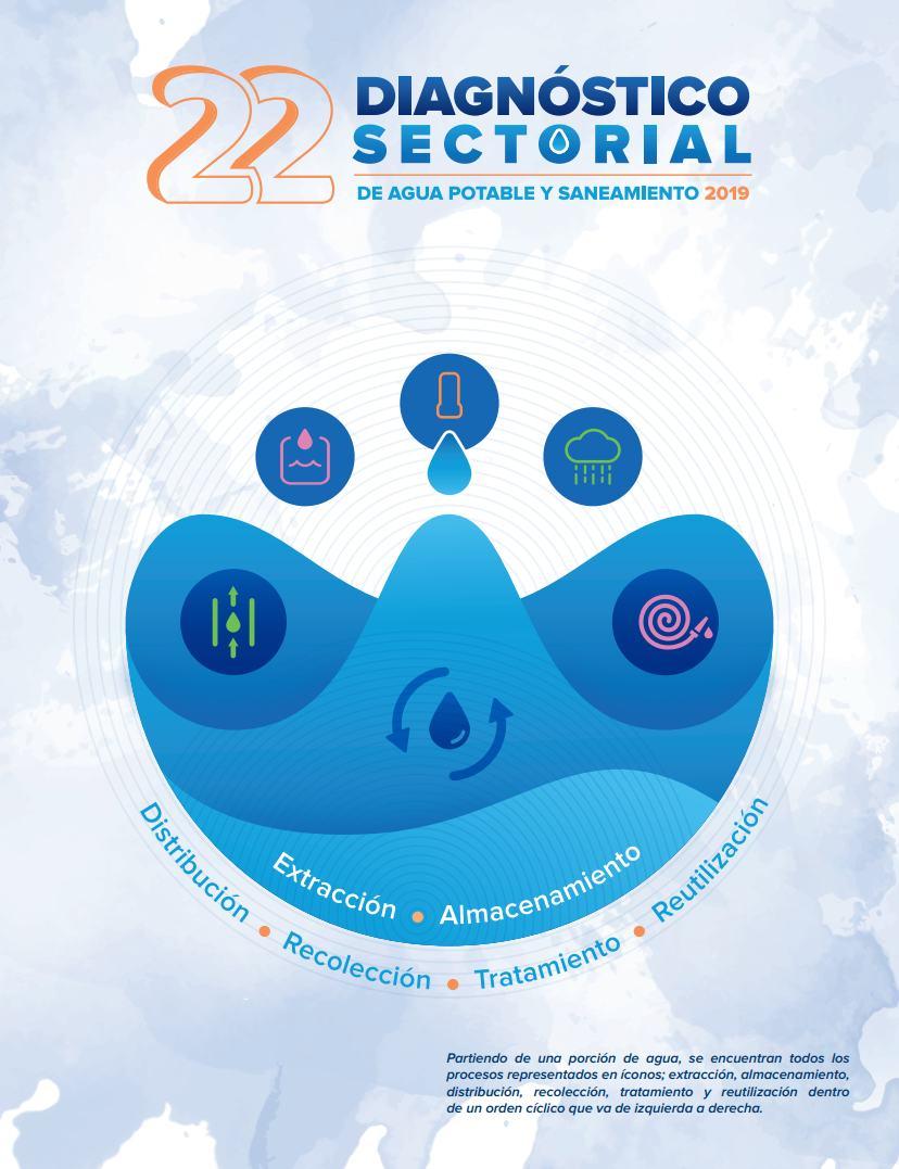 22 Diagnóstico Sectorial de Agua Potable y Saneamiento 2019